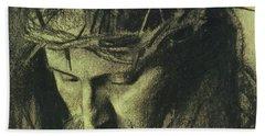 Head Of Christ Hand Towel