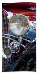 Headlight And Horn Hand Towel by Arthur Dodd