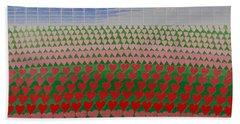 Heart Fields Bath Towel