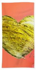 Heart Of Gold Bath Towel