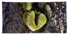 Moss Has Heart  Hand Towel