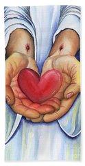 Heart's Desire Hand Towel
