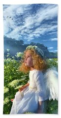 Bath Towel featuring the photograph Heaven Sent by Phil Koch
