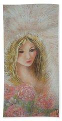 Heavenly Angel Bath Towel by Natalie Holland