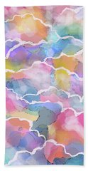 Heavenly Clouds Hand Towel