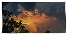 Heavenly Clouds Bath Towel