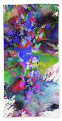 Heavenly Cosmos Series 1977.032914invertfadediff Hand Towel