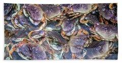 Heavenly Crabs Bath Towel