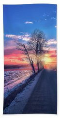 Heavenly Journey Bath Towel by Rose-Marie Karlsen