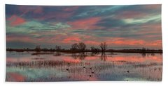 Heavenly Sunrise Bath Towel