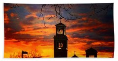 Heavenly Sunset Hand Towel