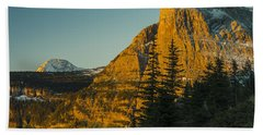 Heavy Runner Mountain Bath Towel by Gary Lengyel
