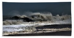 Stormy Surf Hand Towel