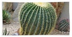 Hedgehog Cactus Bath Towel