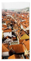 Heidelberg Cityscape Hand Towel