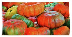 Heirloom Pumpkins Bath Towel