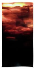 Hand Towel featuring the photograph Hellfire 003 by Lon Casler Bixby
