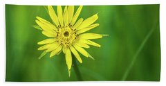 Bath Towel featuring the photograph Hello Wild Yellow by Bill Pevlor