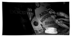 Exorcist Ouija Board Bath Towel