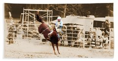 Helluva Rodeo-the Ride 3 Hand Towel