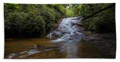 Helton Creek Falls 2 Bath Towel by Sean Allen