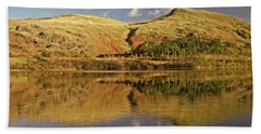 Helvellyn Mountain Reflections Hand Towel