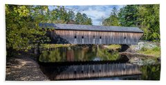 Hemlock Covered Bridge Hand Towel