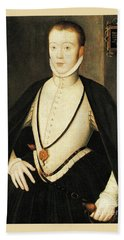 Henry Stewart Lord Darnley Married Mary Queen Of Scots 1565 Bath Towel