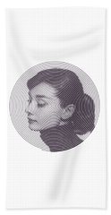 Hepburn Hand Towel by Zachary Witt
