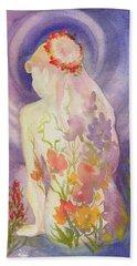 Herbal Goddess  Bath Towel