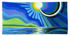 Here Come The Sun Hand Towel