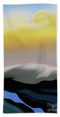Here Comes The Sun Hand Towel