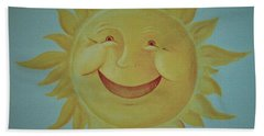 Here Comes The Sun Bath Towel