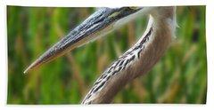Heron Head Hand Towel
