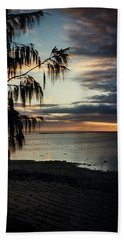 Heron Island Sunset  Bath Towel