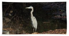 Heron  Bath Towel