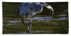 Herons Dinner Bath Towel