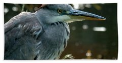 Herons Looking At You Kid Bath Towel