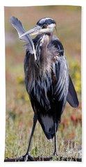 Herons Own Bath Towel