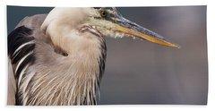 Herons Pause Hand Towel