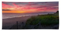 Herring Cove Beach Sunset Bath Towel
