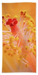 Bath Towel featuring the photograph Hibiscus-1 by David Coblitz