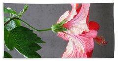 Hibiscus #4 Bath Towel
