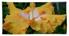 Hibiscus Golden Mist Hand Towel