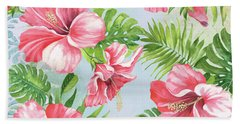 Hibiscus Paradise-jp3965 Bath Towel