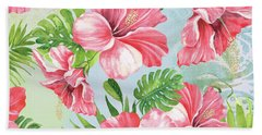 Hibiscus Paradise-jp3966 Bath Towel