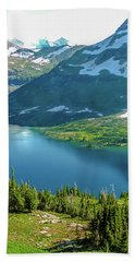 Hidden Lake Glacier National Park Bath Towel