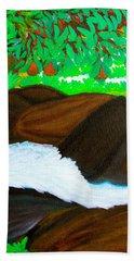Hidden Paradise Hand Towel by Lorna Maza
