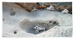 Hidden Shells On Bimini Beach Hand Towel
