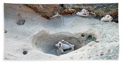 Hidden Shells On Bimini Beach Bath Towel
